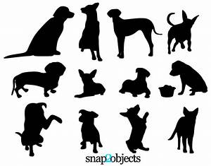 Free Dog Vector Silhouettes   123Freevectors