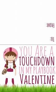 Sports Valentines Printables - Candy Free Valentine Ideas  Valentines