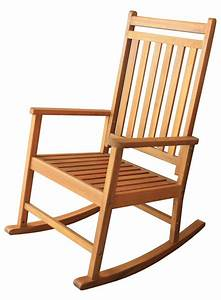Wooden rocking chair plans for Fauteuil rocking chair design