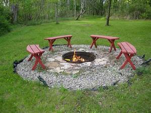 Classic, And, Modern, Design, Of, In, Ground, Fire, Pit, U2013, Homesfeed