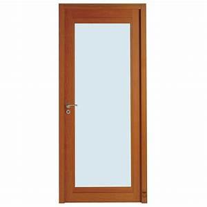 porte d39interieur bois peguy vitree pasquet menuiseries With porte de garage coulissante avec porte intérieure bois vitrée