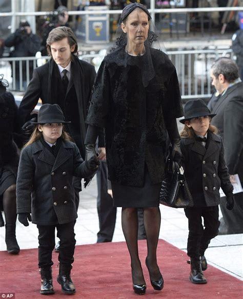 celine dion  devastated  brother daniels funeral