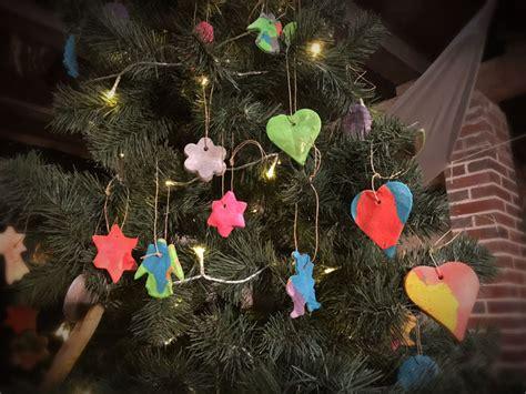 weihnachtsbaum anh 228 nger aus salzteig tolle bastelidee mit