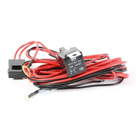 light installation wiring harness for 3 lights by rugged ridge midwest jeep willys