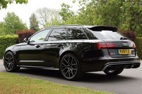 audi rs6 performance used panther black audi rs6 avant performance for sale hertfordshire