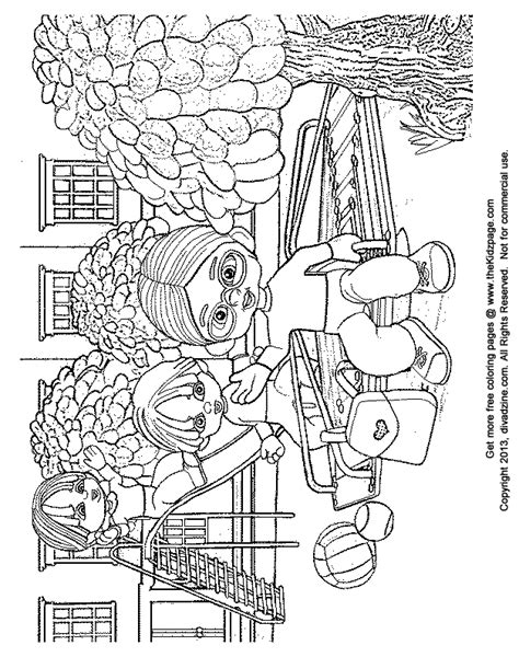 playground coloring pages school yard playground free coloring pages for