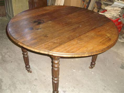 relooker table de cuisine table ronde la déco de gégé