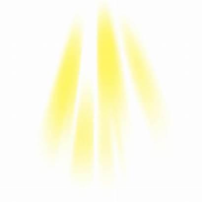 Effect Yellow Clipart Beam Sunlight Photoshop Royalty