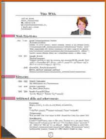 new curriculum vitae format sles cv format 2016 in ms wordreference letters words