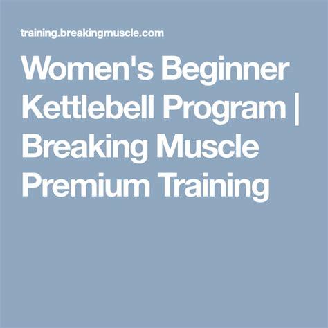 kettlebell training program strength breakingmuscle drill