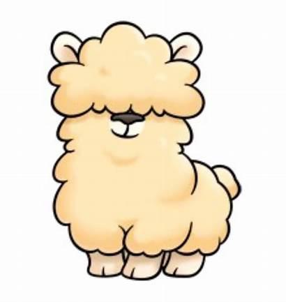 Alpaca Clipart Alpaka Kawaii Drawings Cartoon Chibi