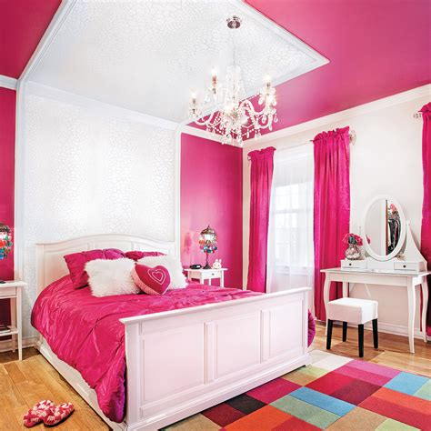 chambre fille couleur chambre vintage ado fille