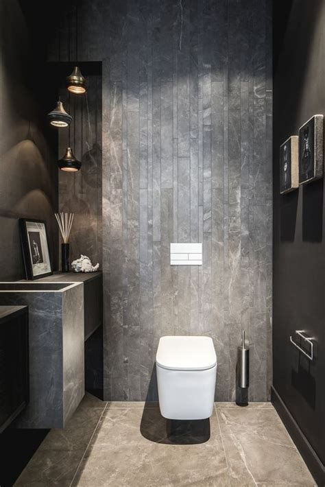 inspirational ideas  design  guest toilet digsdigs