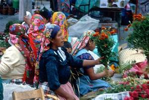 Zapotec Flower Market