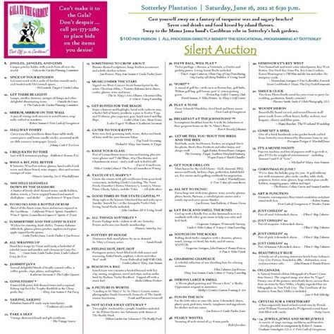auction program template pin by rebekah cornett on pta stuff