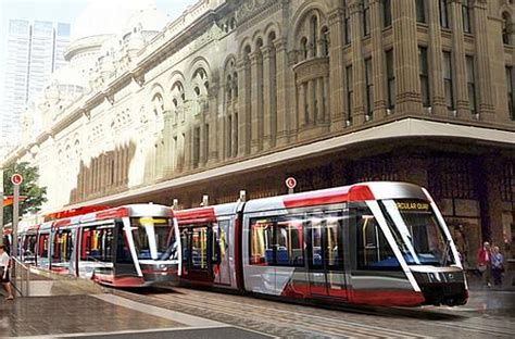 is the light rail running today sydney city cbd to eastern suburbs light rail project