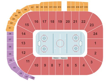 minnesota golden gophers  discount minnesota golden gophers college hockey ticket