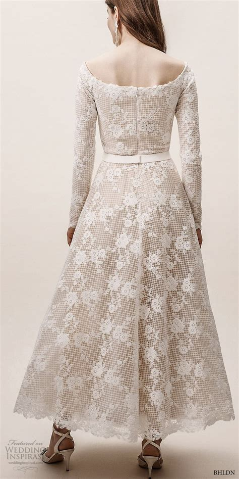 Bhldns Effortlessly Chic Spring 2019 Wedding Dresses