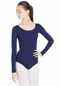 Size Chart Team Basic Long Sleeve Leotard By Capezio
