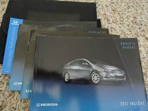 Used 2011 Honda Insight Factory Owners Owner U0026 39 S Manual