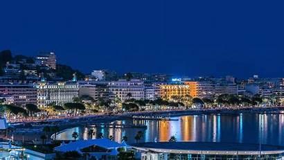 France Cannes Bing Spotlight Night Wallpapers Lights