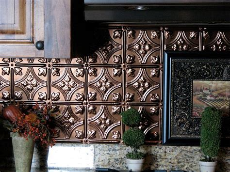 kitchen tin backsplash adding pressed tin into your home decor