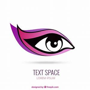 Woman eye logo Vector | Free Download
