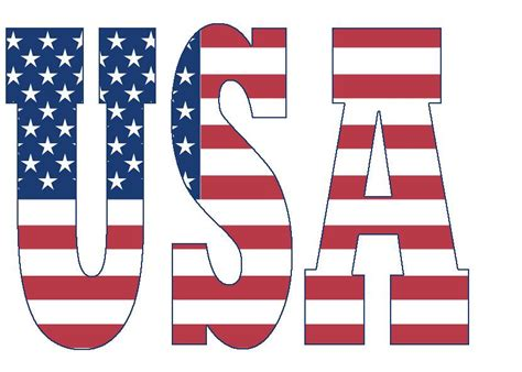 Letter Usa by Usa No This Is Not A New Font It S A Simple Trick If