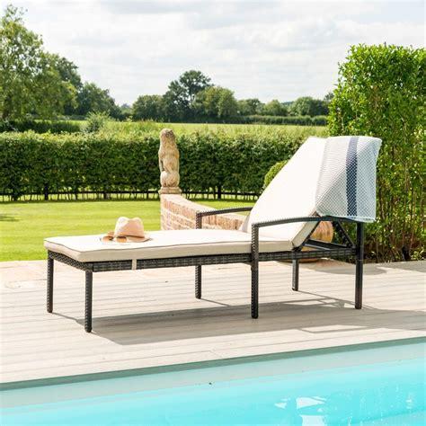 austin sunlounger outdoor living  breeze furniture uk