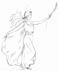 easy pencil drawings of fairies