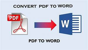 How To Convert Pdf To Word Online Free Without Email 2018