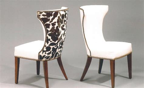 cow print dining chair harden cow print hair on hide chair