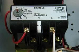 Siemens Heavy Duty Motor Starter Class 14 Magnetic Starter 3ph 200  230vac Maxamp
