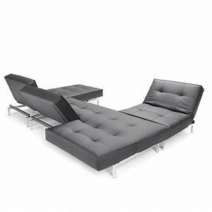 Canape lit modulaire convertible de luxe splitback pieds for Tapis bébé avec canapé lit design luxe