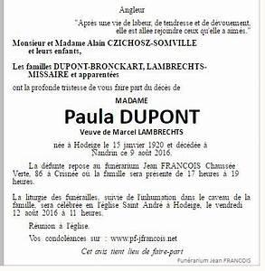 Avis De Deces Puy De Dome : d c s nandrin ~ Dailycaller-alerts.com Idées de Décoration
