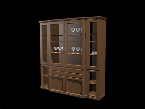 home bar cabinet furniture  model ds max files