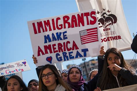 'day Without Latinos' Thousands Protest Immigration
