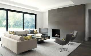 Modern Tile Fireplace Surrounds