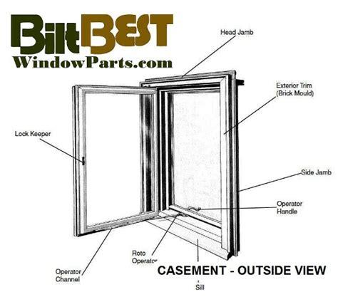 casement window sash replacements caradco marvin window  door parts