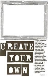 design your own creatyourown