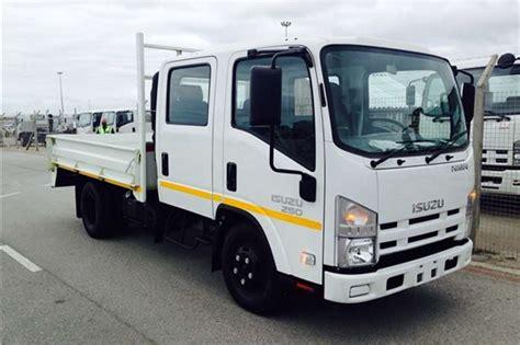 Isuzu Nmr 250 Crew Cab Amt Dropside Truck Trucks For Sale
