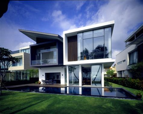Modern Architectural House Designs by Modern House At Small Area In Sentosa Cove Digsdigs