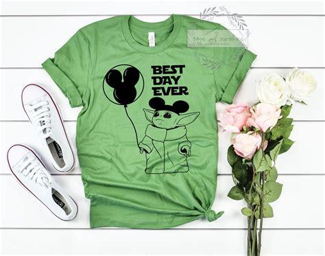 Baby Yoda Shirt, Baby Yoda Best Day Ever, The Child ...