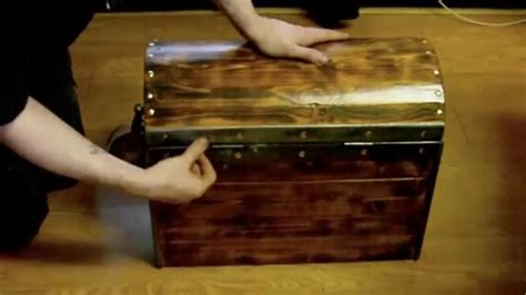 project pirate chest   scrap wood youtube