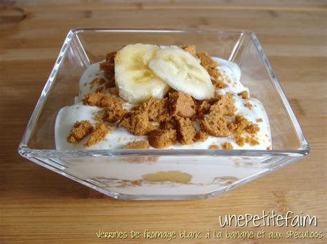 verrines de fromage blanc 224 la banane et aux sp 233 culoos une faim