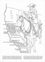 Coloring California Missions Expanded sketch template
