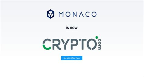 Monaco, which is raising funds to launch its prepaid visa card for spending bitcoin and erc20 tokens with fiat currency, has accrued around 26,000 eth since the token sale began may 18. Crypto Visa Card Monaco is Rebranding Its Domain Into crypto.com - Coindoo