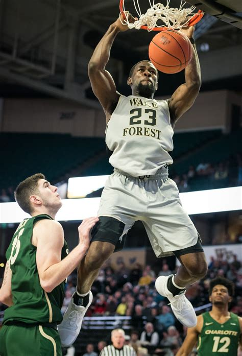 wake forest mens basketball    unc