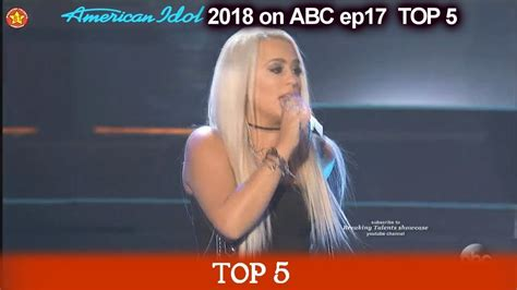 "Gabby Barrett sings ""Last Name"" FABULOUS American Idol ..."