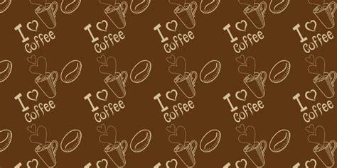 18 coffee background patterns photoshop free brushes